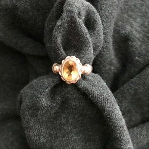 Jewelry - Sterling and citrine ring